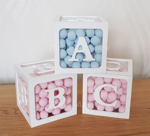 ABC Blocks Acrylic boxes - Medium